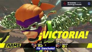 Prueba de Arms de amigo Angelmon- Mr Sanchokid