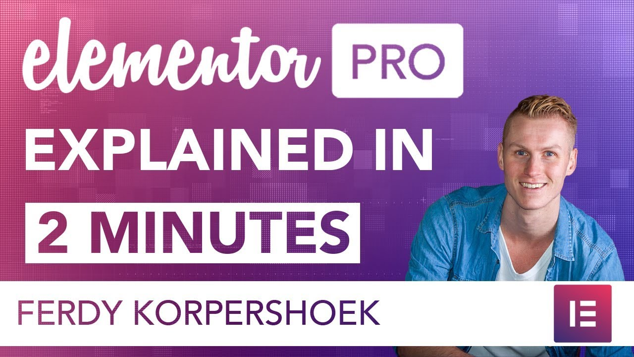 Elementor Pro Explained In 2 minutes