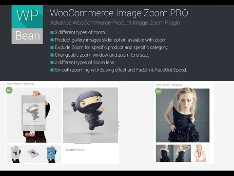 woocommece image zoom