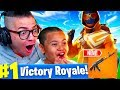 Download *NEW* HEAVY AR IS OVERPOWERED!!! *SO MUCH DAMAGE* FORTNITE BATTLE ROYALE 10 YEAR OLD KID! STARTER PK