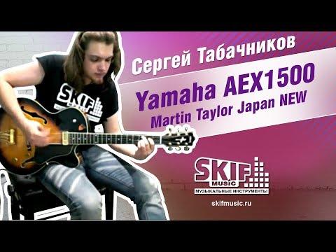 Обзор электрогитары Yamaha AEX1500 Martin Taylor Japan | SKIFMUSIC.RU