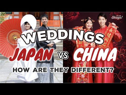 [China & Japan]The 5 differences of weddings in China & Japan explained by a transnational couple!