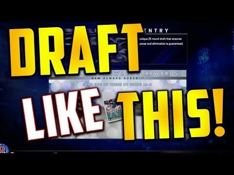 Draft Like This To Win EVERY Game! MLB The Show 17 - Battle Royale - 동영상