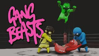 Gang Beasts - Gameplay Sem Cortes