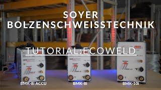 Ihr Anleitungsfilm für die Bolzenschweißgeräte Baureihe ECOWELD (BMK-8i ACCU, BMK-8i, BMK-10i)