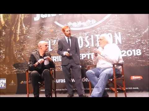 Exposition Jurassic World : conférence de presse