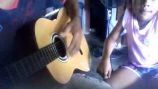 Adios chico de mi barrio - en guitarra - feat tormenta