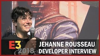Jehanne Rousseau, Spiders CEO, Shows Off Greedfall Gameplay Story and RPG Elements - USC at E3 2018