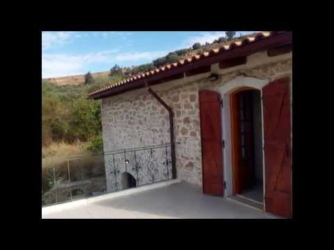 Seaside Real Estate in Greece - Traditional stone house for sale in Crete