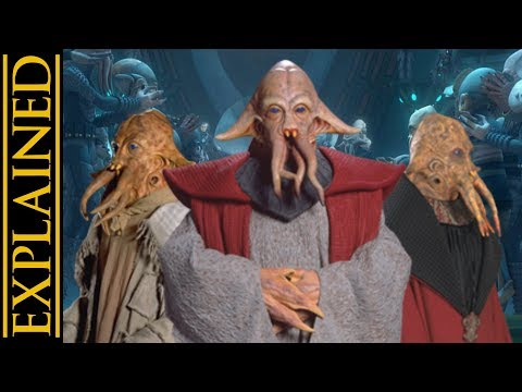 Quarren Species Biology, Society, and History - Star Wars Canon vs Legends