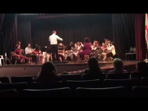 Sheffield High School Band Plays: Afterburn: BAND DIRECTOR: Zack O'Bryant