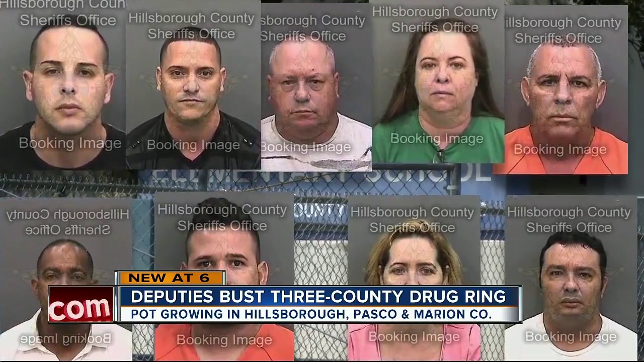 Deputies bust three-county drug ring