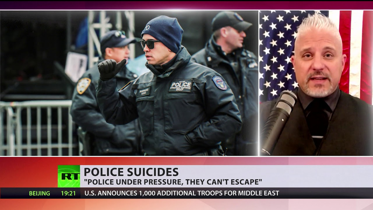 NY police urging action after a chain of suicides among officers