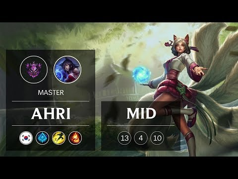 Ahri Mid vs Lissandra - KR Master Patch 9.2