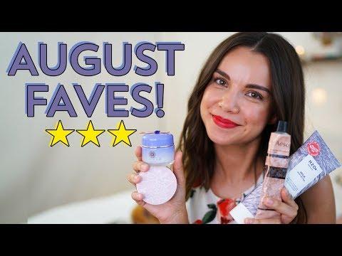 August Favorites 2017! | Ingrid Nilsen