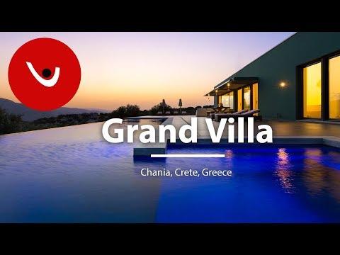 Grand  Villa to Rent in Chania Crete Greece | Unique Villas | uniquevillas.gr