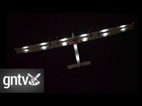 Solar Impulse 2 returns to the UAE