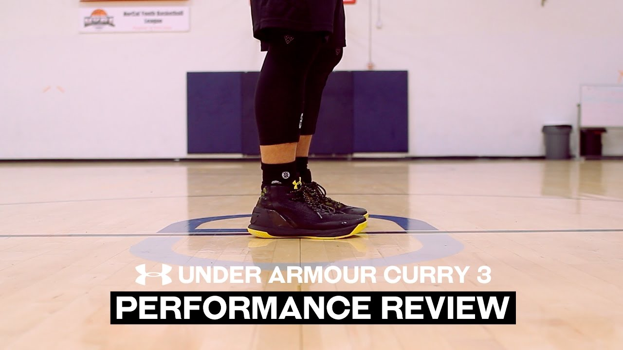 63df3a79c47 Under Armour Curry 3 - Performance Review - YouTube