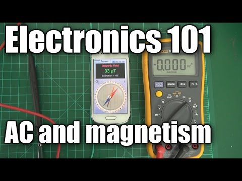 Electronics 101 - AC current and magnetism