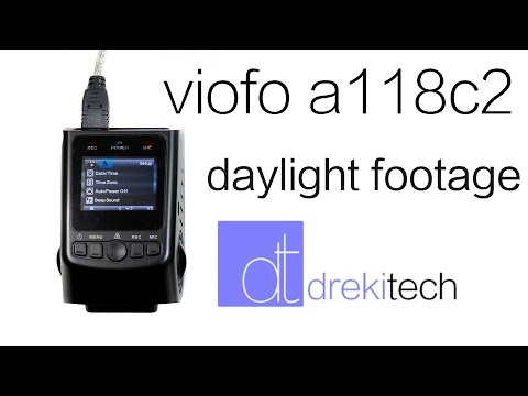 Viofo A118C2 Sunny Footage Examples