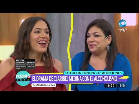 El drama de Claribel Medina con el alcoholismo