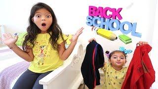 Masal'ın Okul Kıyafetleri Kayboldu! Little baby lost school uniforms funny kids video