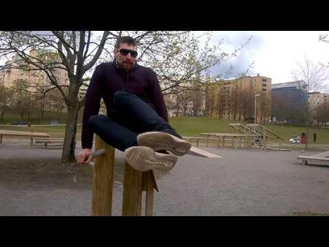 PeRun   Vlog#01   Outdoor Fitness in Stockholm   Sweden