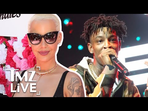 Amber Rose and 21 Savage Meet The Parents | TMZ Live