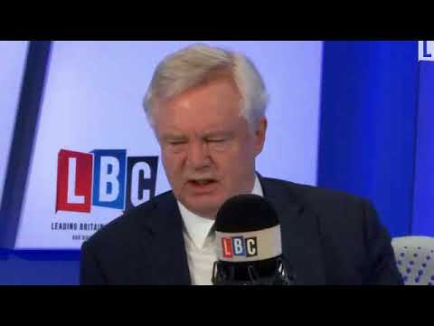 David Davis revealing interview on LBC