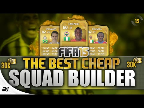 THE BEST CHEAP TEAM ON FIFA! (30K) | FIFA 15 Ultimate Team
