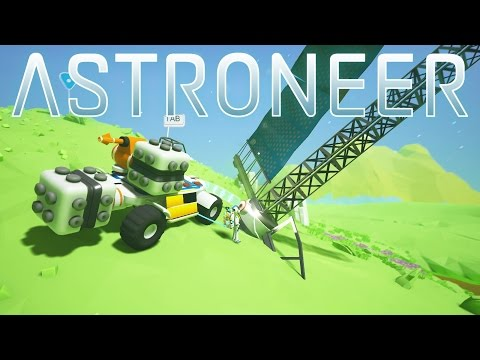 Astroneer - Massive Solar Panel Power Boost! - E08 - Let's Play Astroneer Gameplay