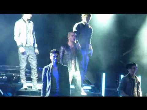 The Wanted - Heart Vacancy - Doncaster Racecourse 14/05/11.