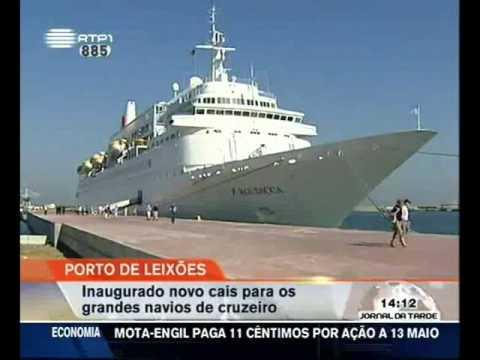 Inauguração do novo Cais de Cruzeiros do Porto de Leixões