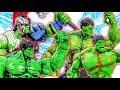HULK Army SMASH~ Green HULK & Gladiator HULK Raknarok Defeat Venom & Venomized Monster #Toymarvel