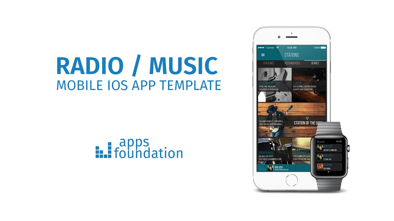 how to make a radio station app