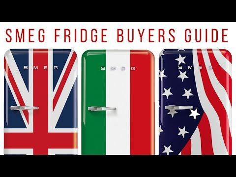 Smeg Refrigerator | 50's Style Retro Funk Fridge