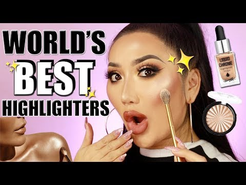 HOW TO APPLY HIGHLIGHTER - HOW TO MAKE YOUR HIGHLIGHTER POP! BEST HIGHLIGHTERS (AFFORDABLE)