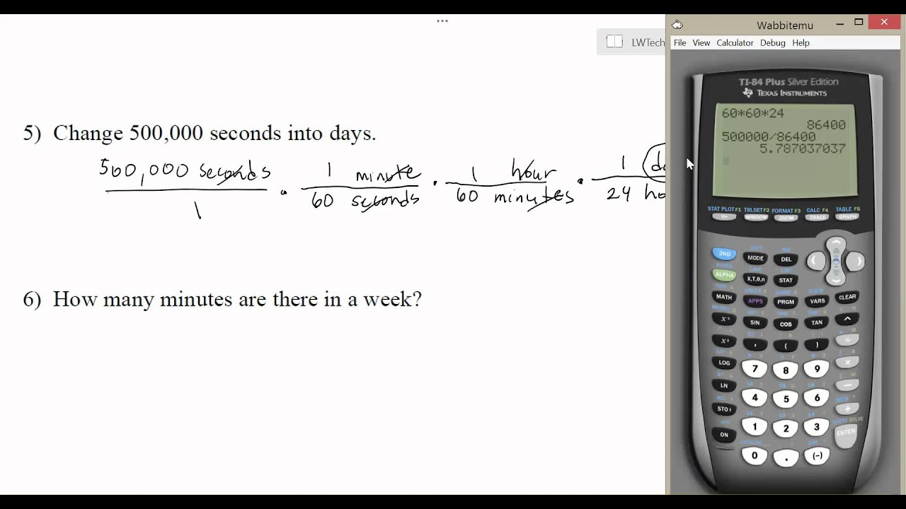1.2.2 Multi-Step Dimensional Analysis Conversions - YouTube