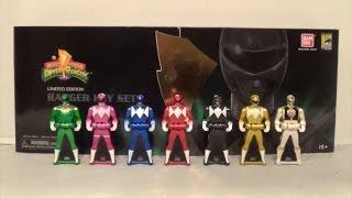 SDCC 2014 Mighty Morphin Power Rangers Ranger Key Set [Power Rangers Super Megaforce]