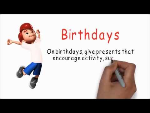 Combat Childhood Obesity Tip #7:  Birthdays