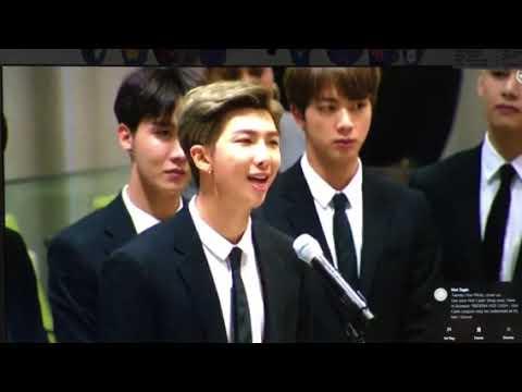 BTS United Nations Speech