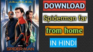 Download Spiderman far from home in hindi | BH movies