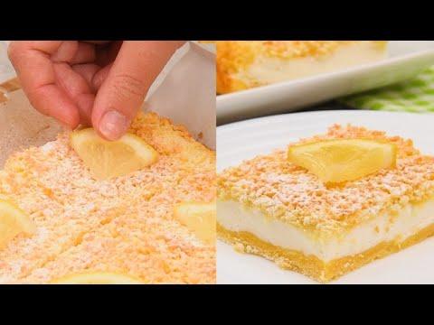 Lemon squares the light dessert to try right now