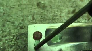 Проверка, нержавейка или нет.(Раствором медного купороса, можно проверить ржавеет металл или нет., 2012-06-12T06:09:38.000Z)