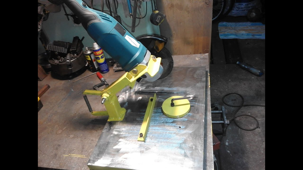 Homemade Angle Grinder Stand Przecinarka Do Metalu