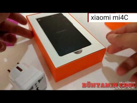 Xiaomi mi4C kutu açılımı#inceleme