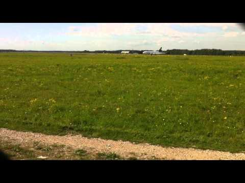 Privé-Jet Landing & K-DC 10 Lufthansa Cargo-Take Off EHEH (Eindhoven Airport)