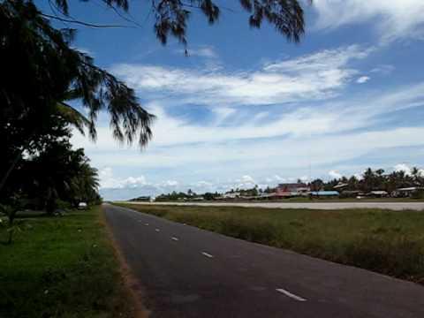 Air Pacific in Funafuti