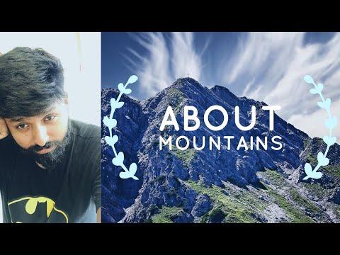 Mountain,Mountain range,Hill,Ridge,Summit,Mountain range,peak in Geography: IAS study material