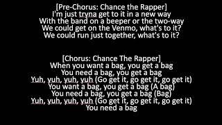 Chance The Rapper (Ft. CalBoy) - Get a Bag (OFFICIAL LYRICS)